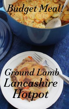 Food Lust People Love: This untraditional recipe uses ground lamb cooked with carrots, onions and thinly sliced potatoes, for an inexpensive, quicker-to-the-table version of the classic Lancashire hotpot.