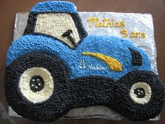 Cake tractor gâteau tracteur New Holland