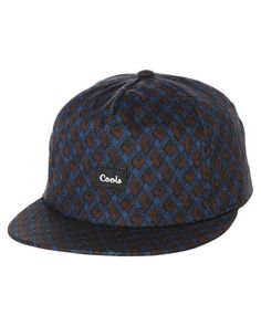 Barney Cools Men s B Cools Snapback Cap Mens Hats Beanies Headwear Blue d1fed15296bd