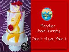 Josie Durney - Cake it 'Til You Make it New Zealand  Handpainted cake