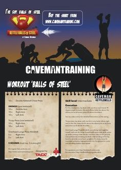 Workout 'Balls of Steel'