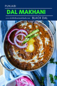 Punjabi Dal Makhani (Black Dal) | Tickle Those Taste Buds Punjabi Cuisine, Tandoori Roti, Lentil Dishes, Dried Lentils, Tomato Gravy, Using A Pressure Cooker, Cookery Books, Vegetable Puree