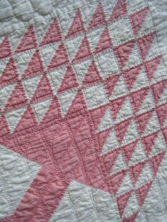 vintage quilts from flour sacks | Flour Sack Mama: Hanging out Grandma's Quilts