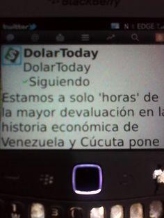 DolarToday denuncia la MAYOR DEVALUACION en la historia venezolana.