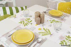 10 εύκολα project ραπτικής για αρχάριους - Ftiaxto.gr Plates, Table Decorations, Tableware, Projects, Diy, Furniture, Sewing, Home Decor, Licence Plates