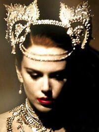 moulin rouge jewelry diy costume INSPO