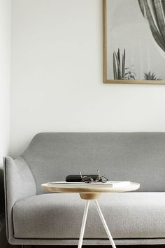 living room corner, Hem Key sidetable. styling by Susanna Vento | interiors