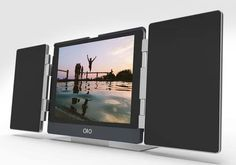 The Amp iPad Air 2 Case with Integrated Stereo Bluetooth Speaker
