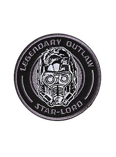 Marvel Guardians Of The Galaxy Vol. 2 Star-Lord Iron-On Patch,