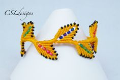 In this tutorial I show you how to add beads to my macrame leaf bracelet that I showed how to make in a previous tutorial. This technique can also be used fo...