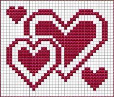 Valentines dish cloth, knitting pattern – Molly Book – Willkommen bei Pin World