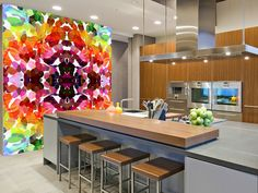 Divine wall mural kitchen preview