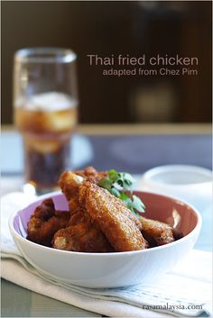 Fried Chicken - I am addicted to these perfectly-fried, golden, crispy and flavorful fried chicken!