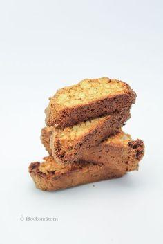 Salted Caramel Protein Biscotti