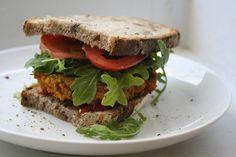 the veganette: Sweet Potato & Quinoa Burgers