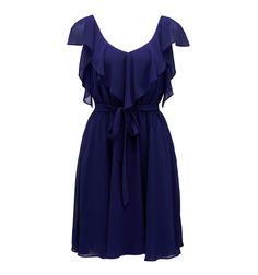 Freya ruffle detail dress - Forever New! Fantastic site for inexpensive, chic clothing