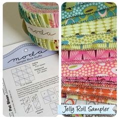 Did you know, that you can make all the #modasamplershuffle blocks from a #jellyroll ? All the blocks for the quilt are free for download at Moda's website. And #foryoufabrics make for a fresh, modern version. Check it out. #zenchic #showmethemoda