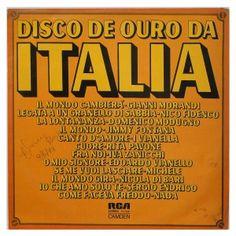 #Disco de #ouro da #Italia - #vinil #vinilrecords #temas