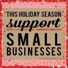 This Holiday Season Support Small Business like mine ♥ Grand Opening ♥ pic from www.
