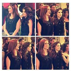 I haven't posted in ages, so enjoy some bechloe #annakendrick #brittanysnow…