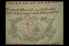 Szívemnek, lelkemnek Hungary, Embroidery, Wall, Needlepoint, Walls, Crewel Embroidery, Embroidery Stitches