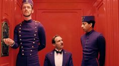 Ralph Fiennes and Tony Revolori in THE GRAND BUDAPEST HOTEL (2014)