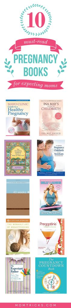 Whether you're a first-time mom or a seasoned veteran, these 10 pregnancy books will make you laugh, cry and inform you all the same.