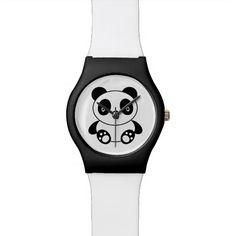 Cute Panda Wrist Watches