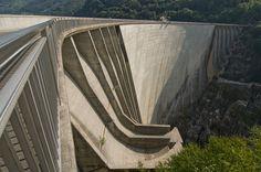 Verzasca Dam, Locarno, Switzerland. From Goldeneye (Martin Campbell, 1995)