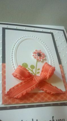 Bright Blossoms FREE Make-and-Take Card (Stampin' It Up with Olivia)