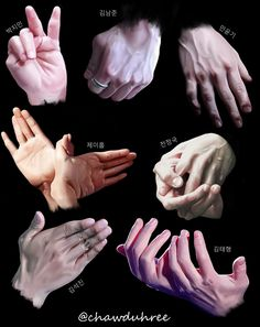 BTS hands by chawduhree