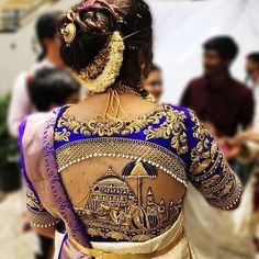 101 trending blouse designs for all occasions saree blouse patterns bling sparkle. Wedding Saree Blouse Designs, Pattu Saree Blouse Designs, Saree Blouse Patterns, Designer Blouse Patterns, Fancy Blouse Designs, Wedding Blouses, Pattern Blouses For Sarees, Kurta Designs, Red Lehenga