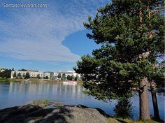 Verão em Rovaniemi na Lapónia Finlandesa