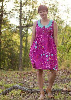 Cotton+Steel Washi Dress// Oliver's Fancy