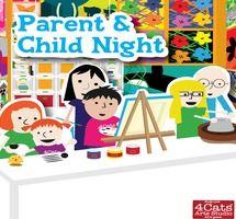 Parent & Child Workshop at 4Cats on October 25, 2013!  Get the details and register here!
