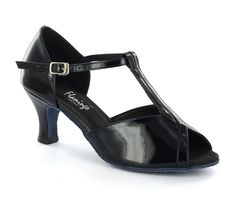 """Black Patent, Size: 4-11 (US), Heel: 1.5-3.0""""Made to order, Ship in 12-25 Days - wide fit 7.5"""