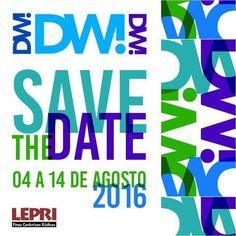 SAVE THE DATE!!  O DW! acontece de 10 a 14 de agosto de 2016, em São Paulo. A Lepri estará participando com uma programação especial.  Mais informações, acesse: www.designweekend.com.br. Siga-nos também no instagram: @lepriceramicas e marque a hashtag #LepriNoDW