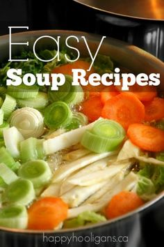 Easy Soup Recipes