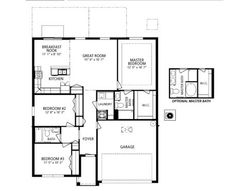Maronda Homes Baybury Floor Plan on 1 storey house design roof