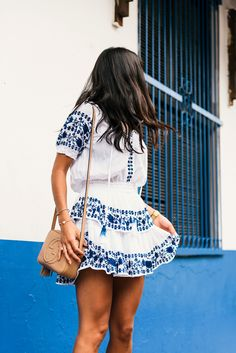 Blue & White in Casco Viejo Panama   Not Your Standard