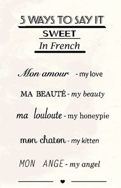 5 ways to say it in French