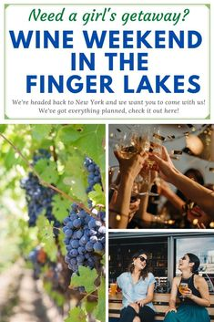 Have you ever been to the Finger Lakes? If not, you are in for such a treat with our first all-gals group trip of 2020! We've lined up our favorite experiences from the past two visits and sprinkled them into the most fun long weekend ever.  We'll do yoga with goats, we'll make our own glass sculptures and yes, we'll test out quite a few of the Finger Lakes famous wines.    The Jet Sisters Wine Weekend in the Finger Lakes will take place June 11-14, 2020. Check this out for more details! #Travel