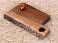 Natural Edge Walnut Cheese Board by FarmTimbers on Etsy, $32.00