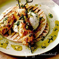 Hähnchenkebab · Rezept der Woche · Kebab & Saté ·Leckere Ideen vom Grill am Spieß · Foto: © Richard Jung