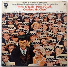 Goodbye, Mr Chips LP Vinyl Record Album, MGM Records - S1E-19 STX, Soundtrack, 1969, Original Pressing