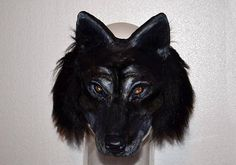 Wolf Mask Paper Mache Lykos Wolf Mask Papier mache Wolf head Paper Mache Mask, Wolf Mask, Paper Mache Animals, Head Mask, Animal Masks, First Photograph, Mask Making, Beauty And The Beast, Kids Work