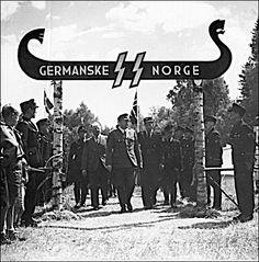 Borrestevnet 1943,  Germanske SS Norge.  (National Archives of Norway)
