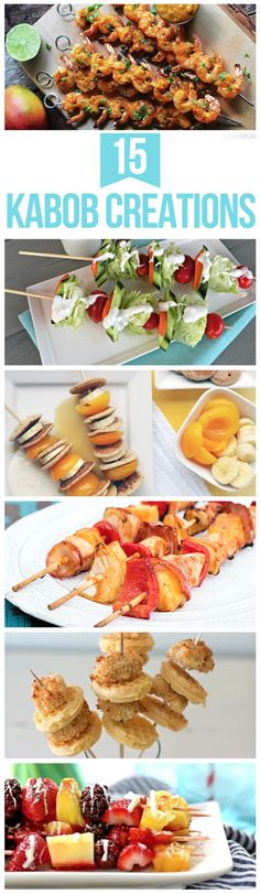 You've got to try these healthy Kabob recipes!
