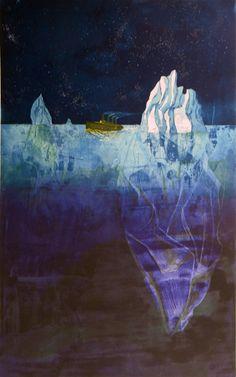 """Jään ohi"" (""Passing the Ice"") by Finnish artist Sari Bremer (2003)."