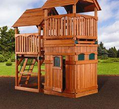 Lovely Details zu Holz Spielturm Spielhaus Kletterturm Schaukel Rutsche Sandkasten xxcm S X In and Garten